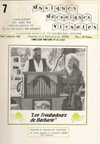 Numéro 7 3ème T 1993